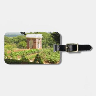 Monticello Ansicht Kofferanhänger