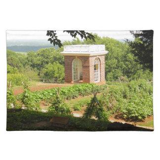 Monticello Ansicht Tischset