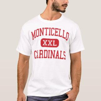 Monticello - Kardinäle - Cleveland Heights T-Shirt