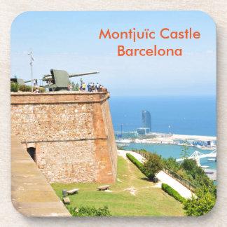Montjuic Schloss, Barcelona Getränkeuntersetzer
