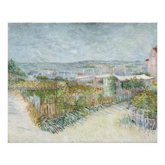 Montmartre hinter Moulin de la Galette durch Van