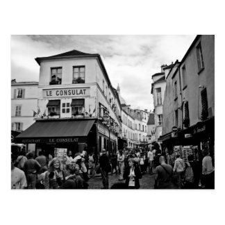 Montmartre, Paris Postkarte