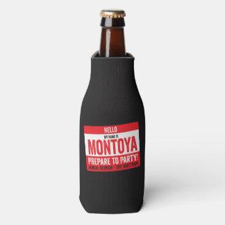 Montoya Wiedersehen 2017 - Preepare zum Party! Flaschenkühler