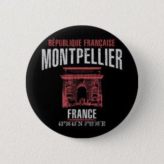 Montpellier Runder Button 5,1 Cm