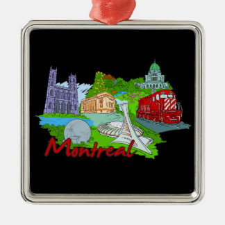Montreal - Canada.png Silbernes Ornament