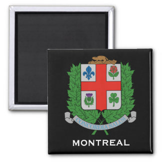 Montreal *Coat des Arm-Magneten Quadratischer Magnet
