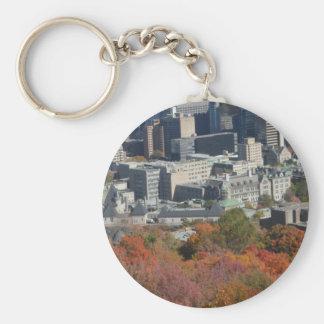 Montreal-Fall-Mountain View Keychain Schlüsselanhänger