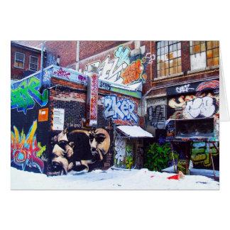 MONTREAL-GRAFFITI-KARTE #1 KARTE