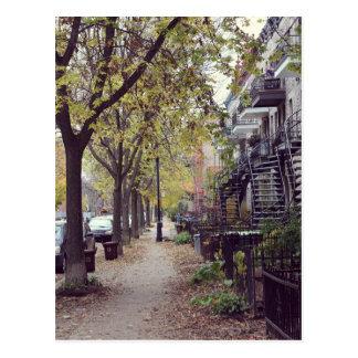 Montreal - Herbst Postkarte