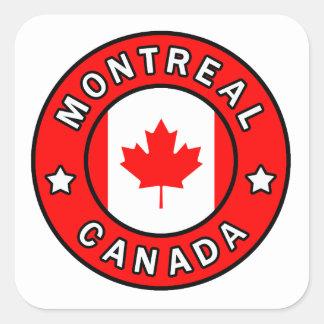 Montreal Kanada Quadratischer Aufkleber