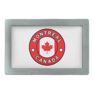 Montreal Kanada Rechteckige Gürtelschnalle