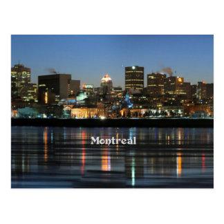 Montreal-Skyline Postkarte