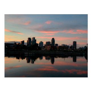 Montreal-Stadt Postkarte
