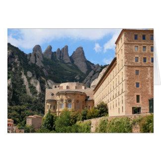 Montserrat-Abtei Karte
