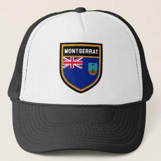 Montserrat-Flagge Truckerkappe
