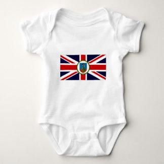 Montserrat-Gouverneur-Flagge Baby Strampler