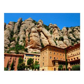 Montserrat-Kloster, Katalonien, Spanien Postkarte