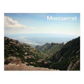 Montserrat Postkarte