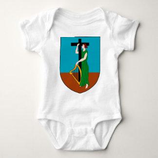 Montserrat-Wappen Baby Strampler