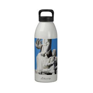 Monument du the Portuguese Discoveries at Lisbon Wasserflaschen