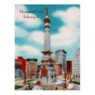 Monument-Kreis Postkarte