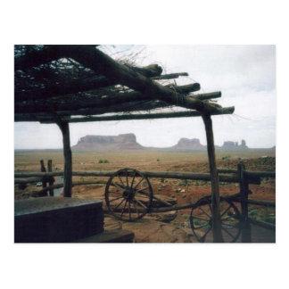 Monument-Tal-Ansicht Postkarte