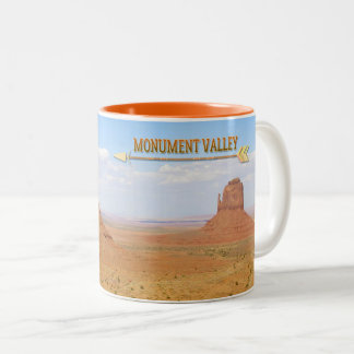Monument-Tal-Navajo-Stammes- Park Zweifarbige Tasse