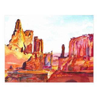 Monument-Tal Postkarte