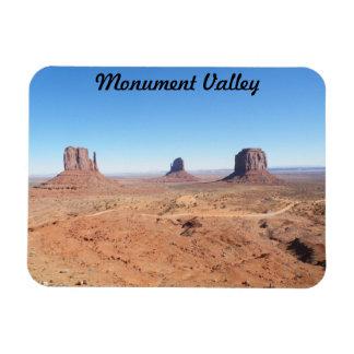 Monument-Tal Recchteckiger Magnet