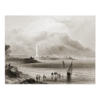 Monument zu General Ross bei Rosstrevor Postkarte
