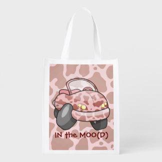 MOO-Auto Wiederverwendbare Einkaufstasche