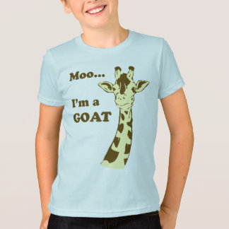 MOO… bin ich ein ZIEGE KinderShirt T-Shirt