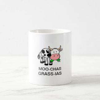 MOO-chas Gras-IAS (Muchas Gracias) Tasse