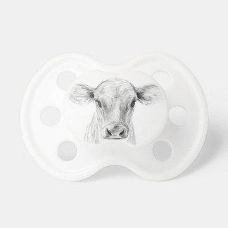 MOO eine junge Jersey-Kuh Schnuller