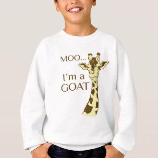 MOO im eine Ziege Sweatshirt