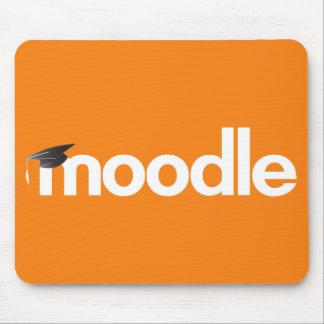 Moodle Mausunterlage - Orange Mousepad