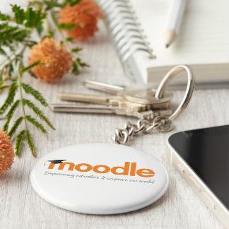 Moodle runde Schlüsselring-Dekoration Schlüsselanhänger