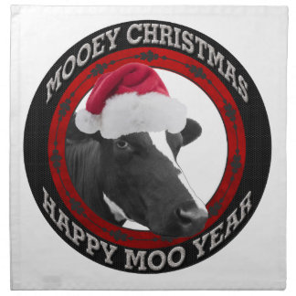 Mooey Weihnachtsglückliche Stoffserviette