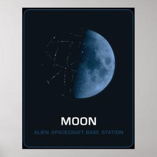 MOON The Ancient Alien Spacecraft Poster