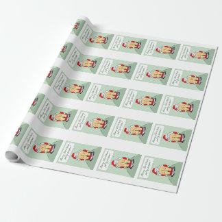 Mooning Sankt-Packpapier Geschenkpapier