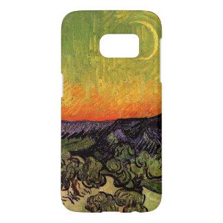 Moonlit Landschaft Vincent van Goghs