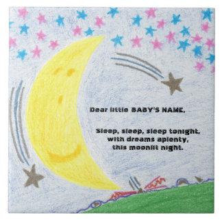 Moonlit Traum-Baby-Kinderzimmer-Fliese Fliese