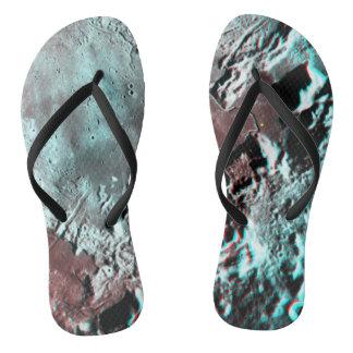Moonscape Raum-Foto-Anaglyph Hadley Kanal Flip Flops