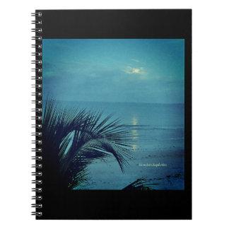 Moonset Notizbuch Notizblock