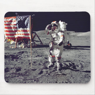 Moonwalk Apollo 17 Mousepad