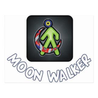 Moonwalker Postkarte