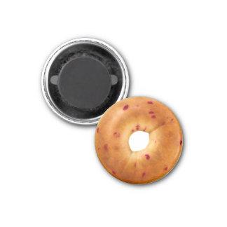 Moosbeerbagel-Magnet Runder Magnet 2,5 Cm