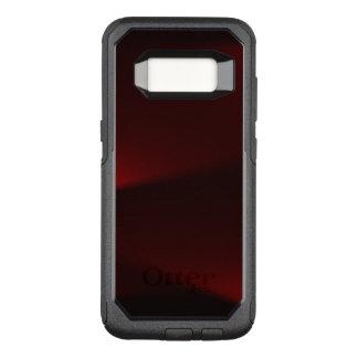 Moosbeere u. schwarze Lichter OtterBox Commuter Samsung Galaxy S8 Hülle