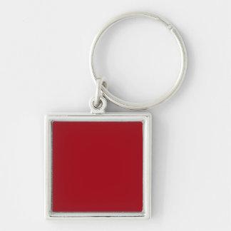 Moosbeerrot-Metall Schlüsselanhänger
