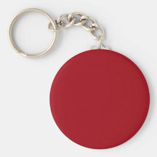 Moosbeerroter Knopf Keychain Schlüsselanhänger